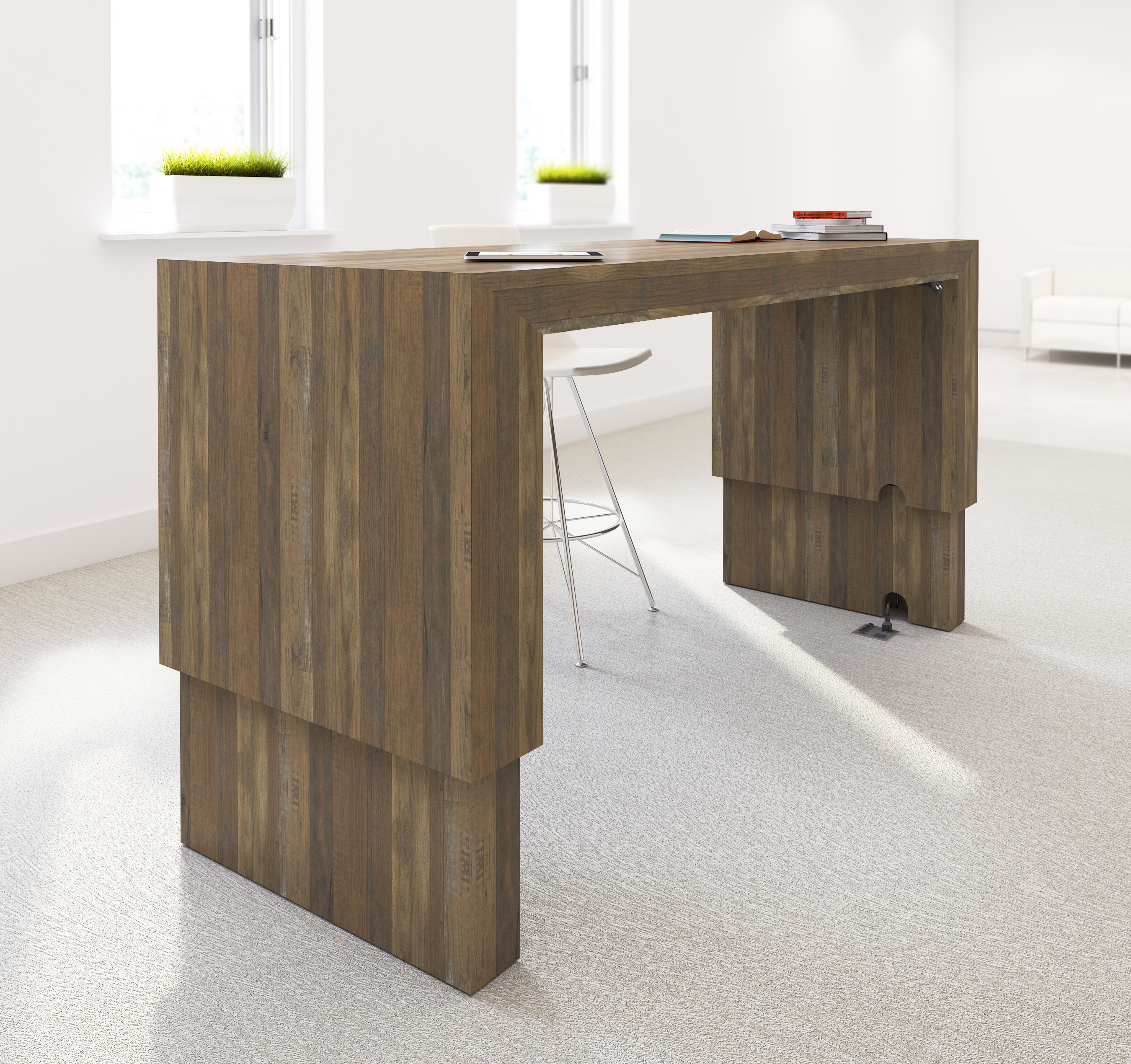 tall on image natural legs la leg wood damages and parsons white minor table top x