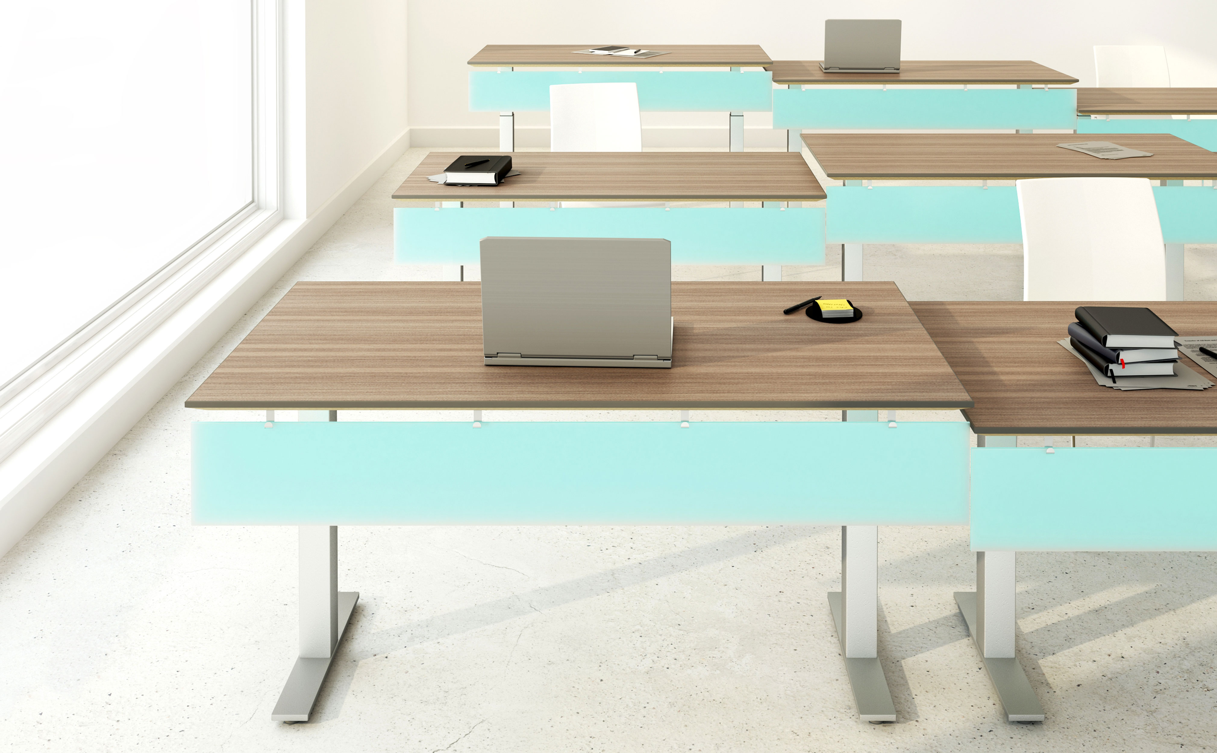 Pax Application Ideas Nevins - Adjustable height training table