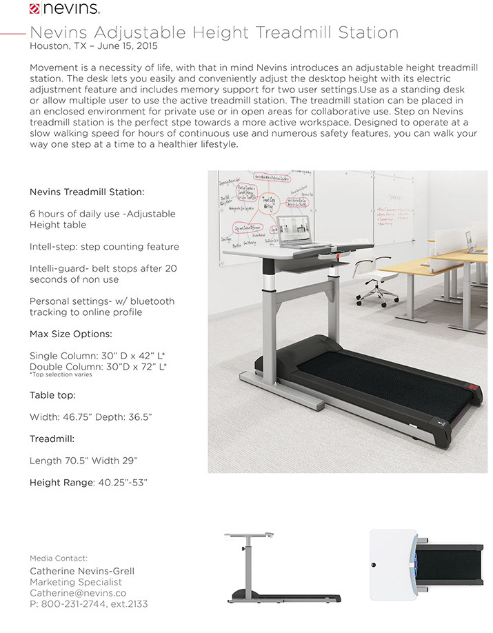 treadmill-adjustable-height-press-release