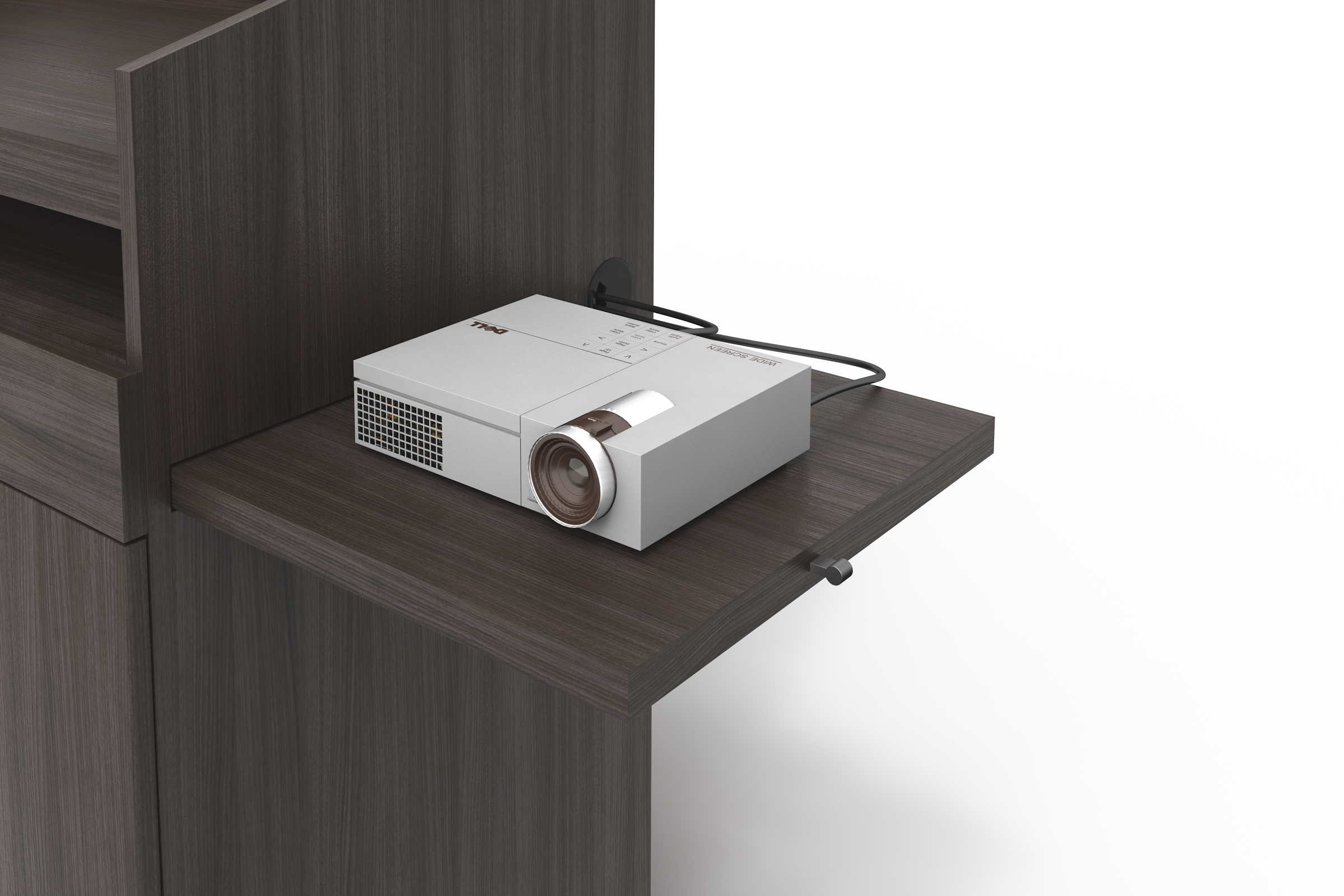 Pullout Projector Shelf