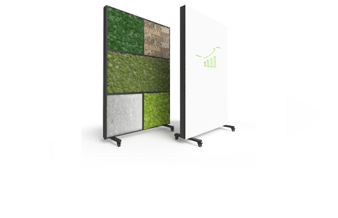 Bio Canvas Room Divider White Board
